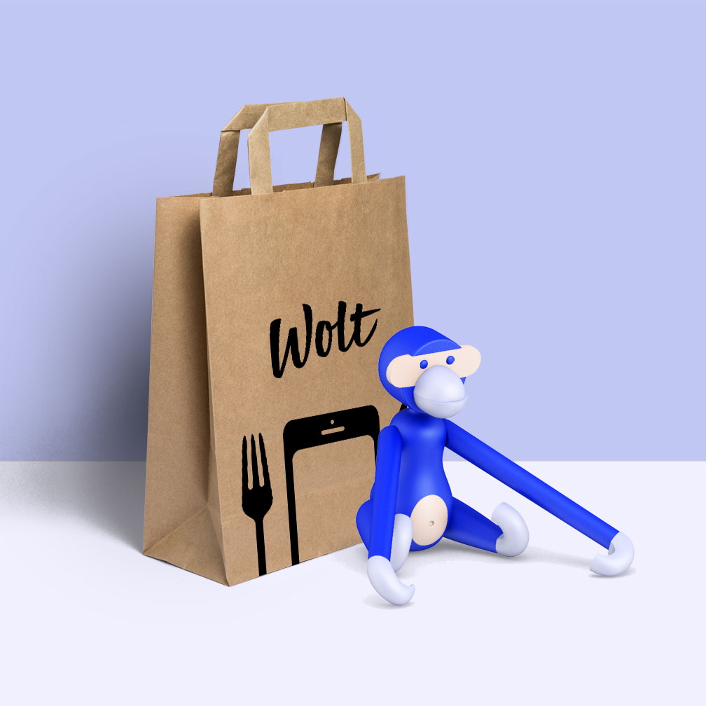 Takeaway bag illustration by Ville Kovanen.
